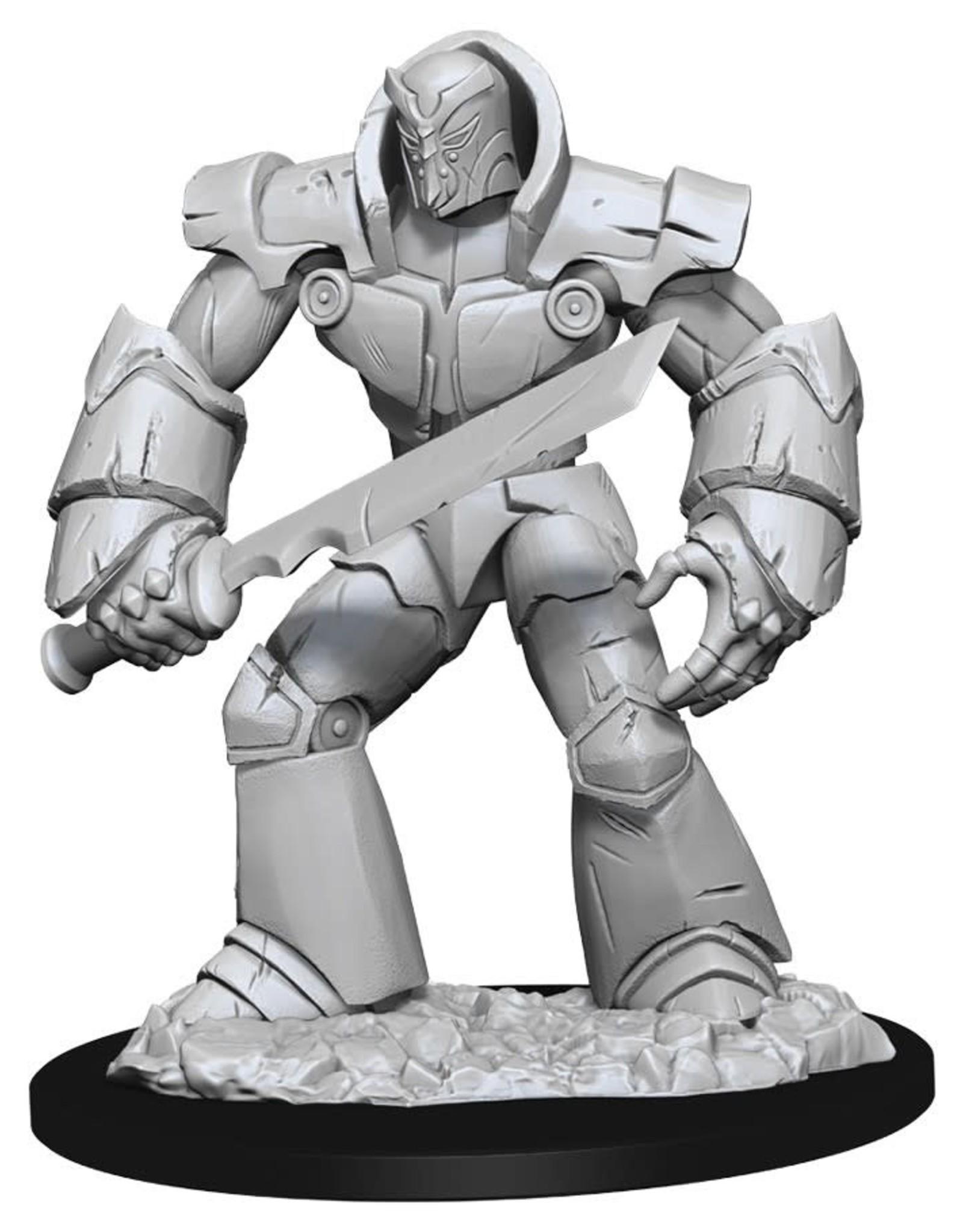 Wizkids D&D Unpainted Minis: Iron Golem