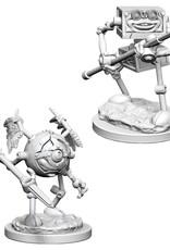 Wizkids D&D Unpainted Minis: Monodrone and Duodrone