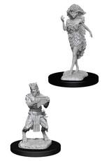 Wizkids D&D Nolzur's Unpainted Miniatures: Satyr & Dryad