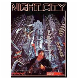 R. Talsorian Games Cyberpunk 2020 RPG: Night City