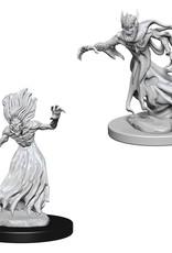 Wizkids D&D Nolzur's Unpainted Miniatures: Wraith and Spector
