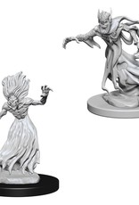 Wizkids D&D Unpainted Minis: Wraith and Spector