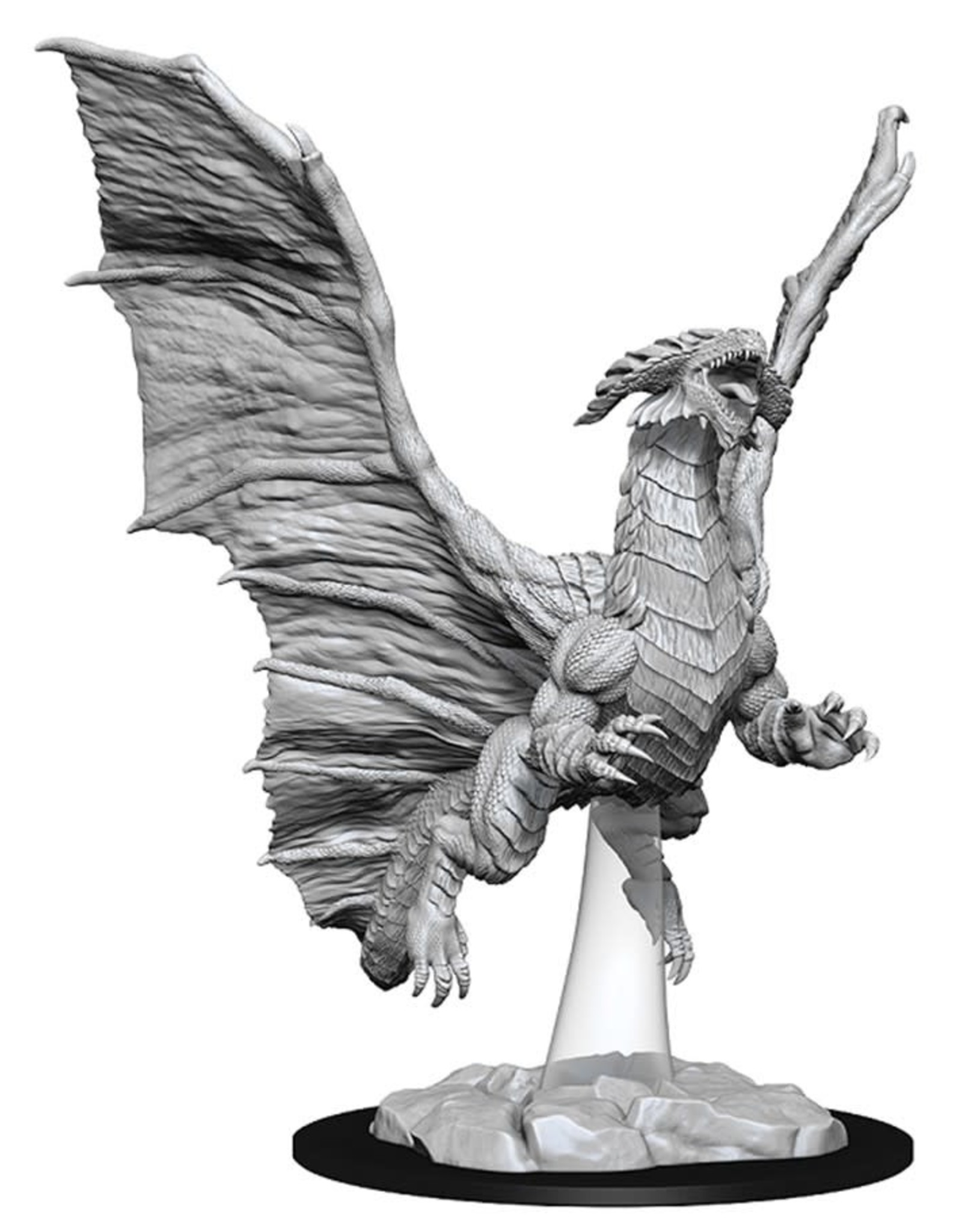 Wizkids D&D Nolzur's Unpainted Miniatures: Young Copper Dragon