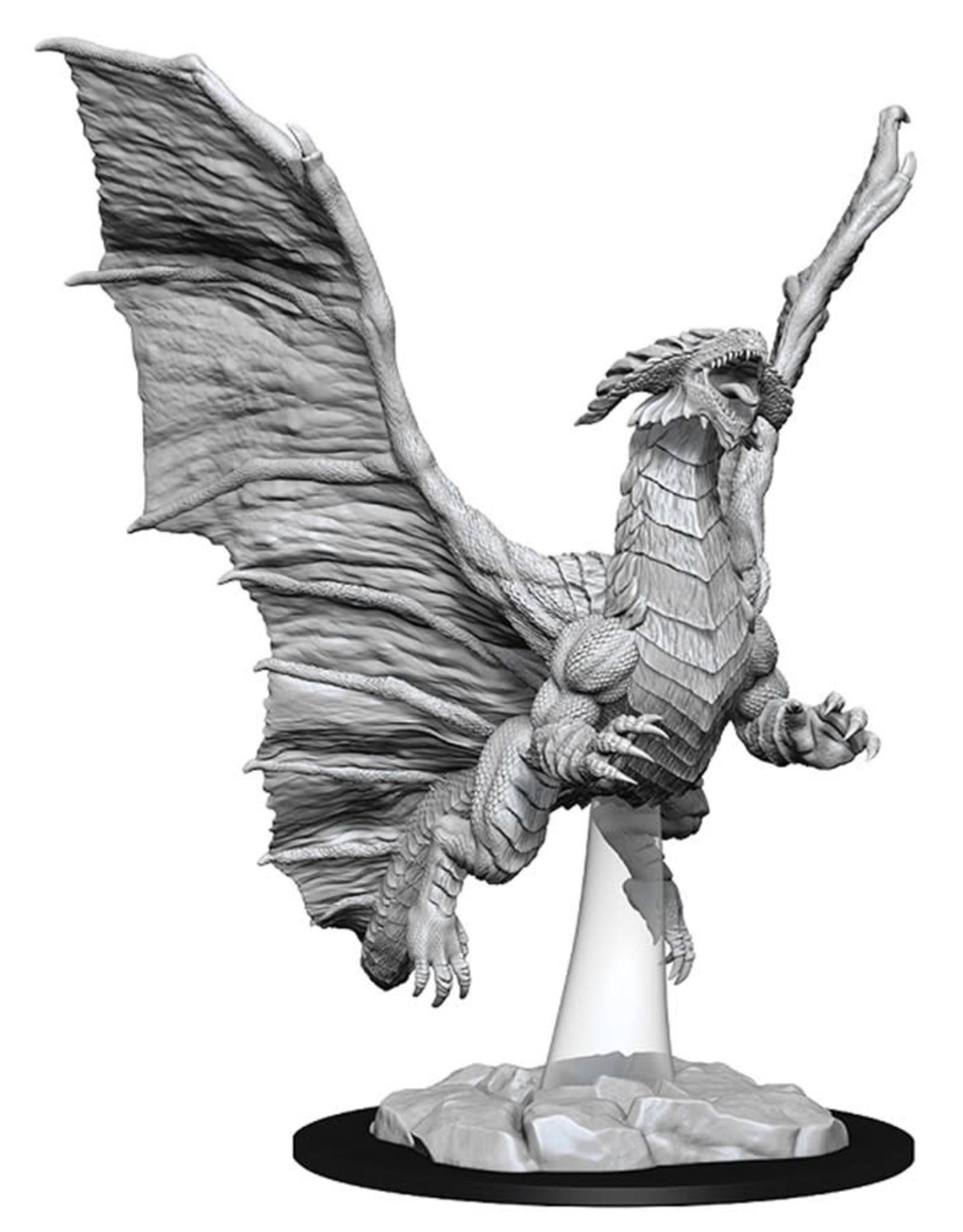 Wizkids D&D Unpainted Minis: Young Copper Dragon