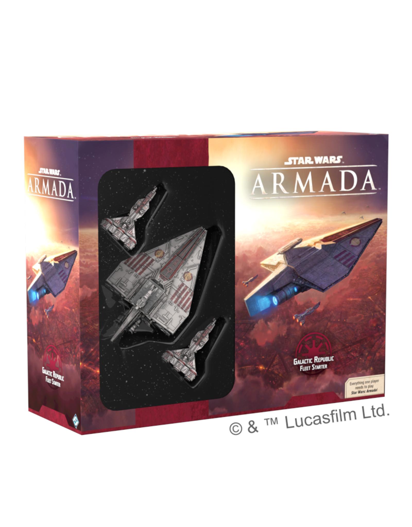 Fantasy Flight Games Star Wars Armada Galactic Republic Fleet Starter