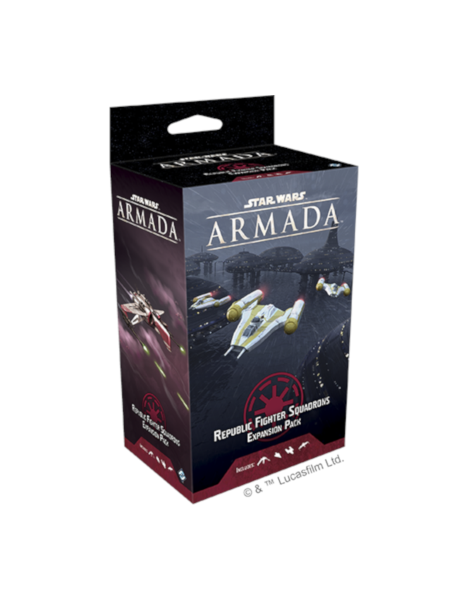 Fantasy Flight Games Star Wars Armada Republic Fighter Squad Expansion