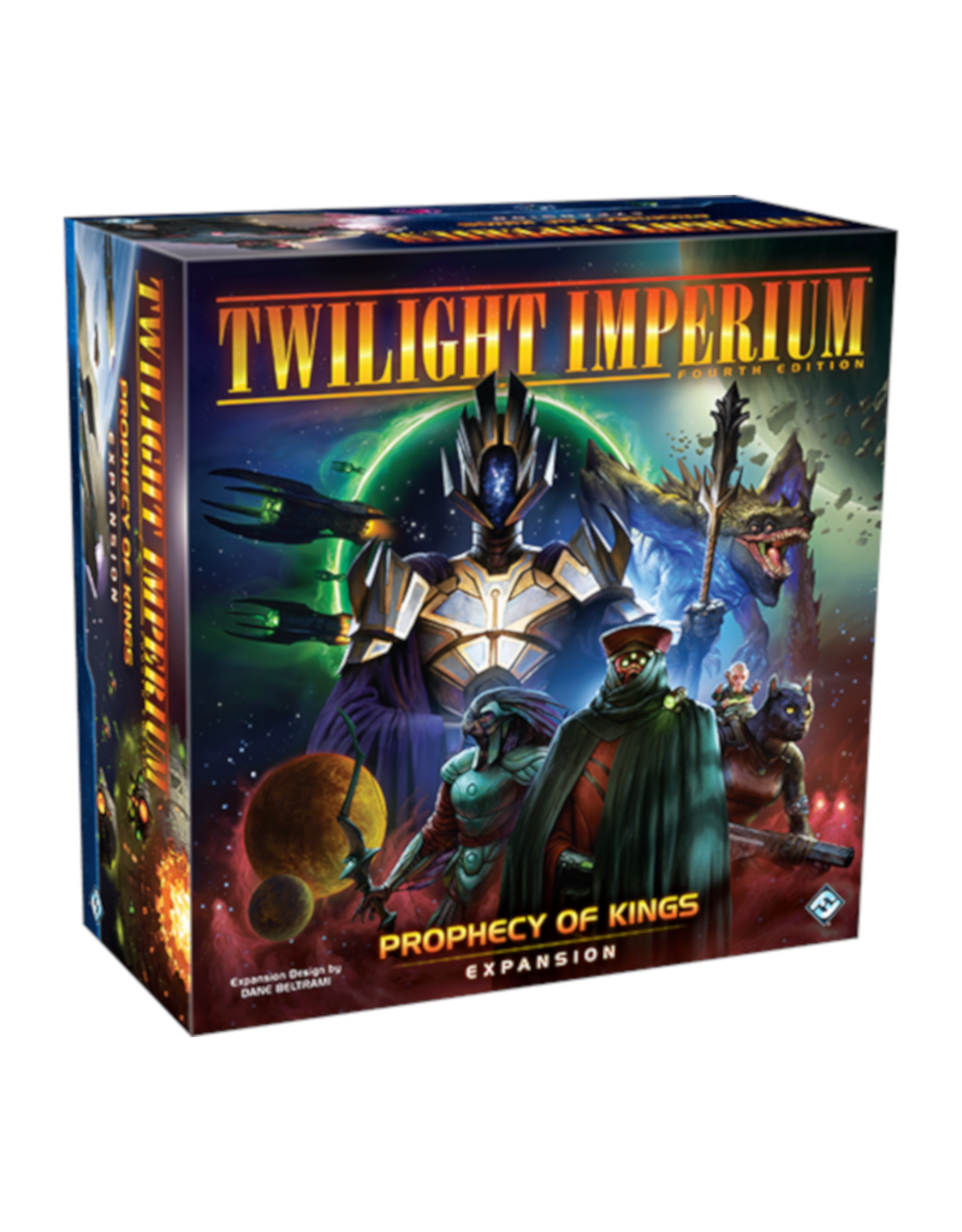 Fantasy Flight Games Twilight Imperium Prophecy of Kings Expansion