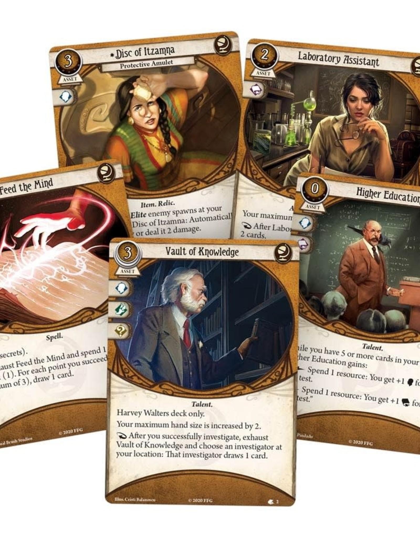 Fantasy Flight Games Arkham Horror LCG Harvey Walters Investigator Deck