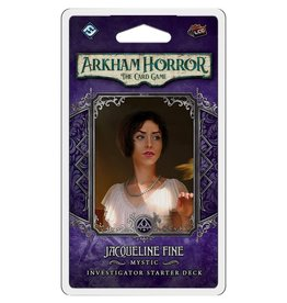 Fantasy Flight Games Arkham Horror LCG Jacqueline Fine Investigator Deck