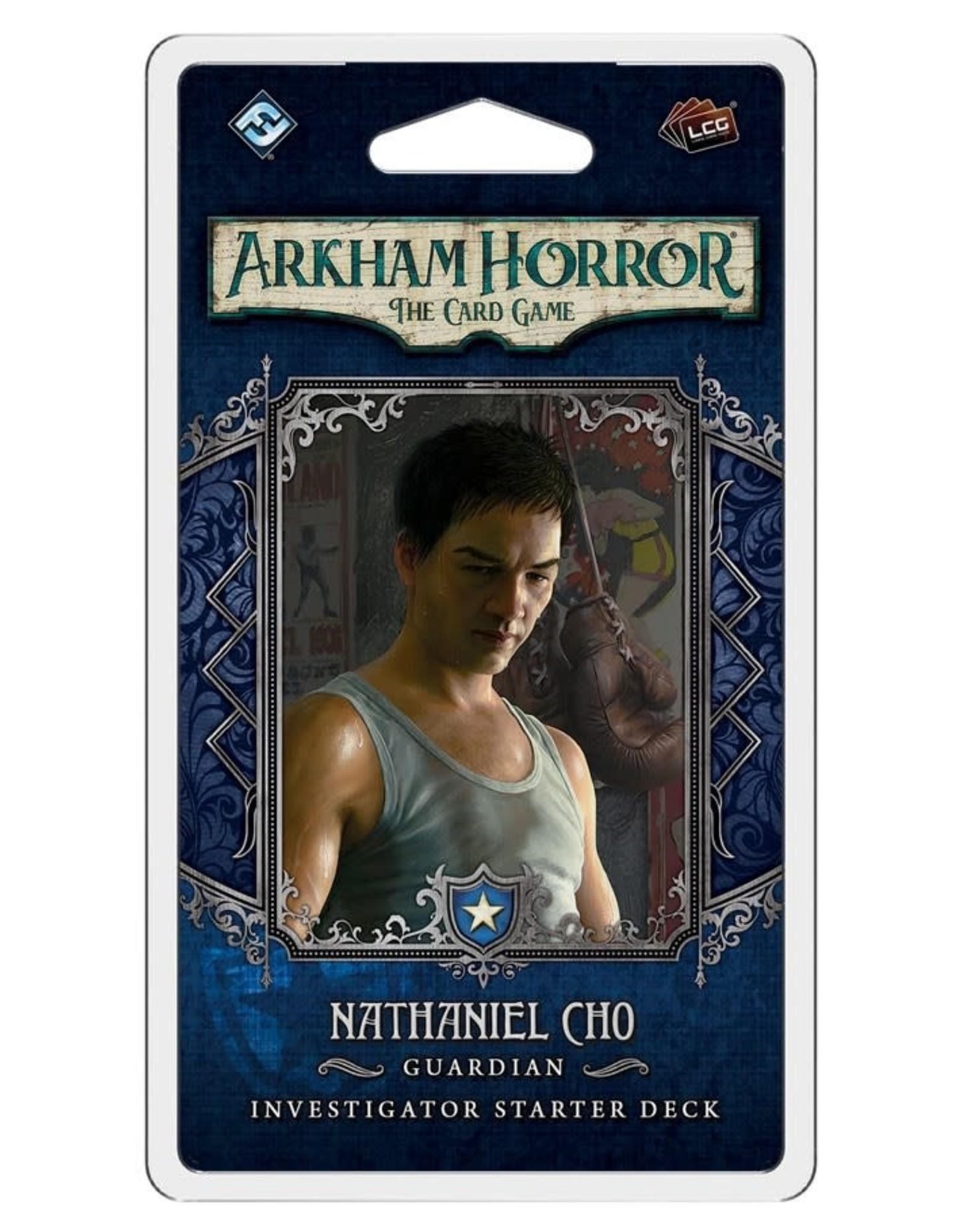 Fantasy Flight Games Arkham Horror LCG Nathaniel Cho Investigator Deck