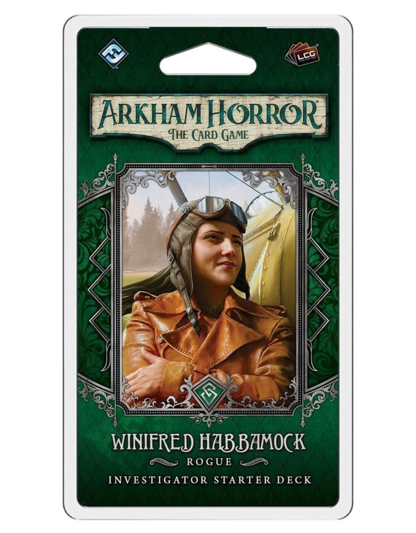 Fantasy Flight Games Arkham Horror LCG Winifred Habbamock Investigator Deck