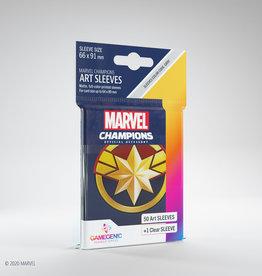 Marvel Champions Art Sleeves (50) Captain Marvel