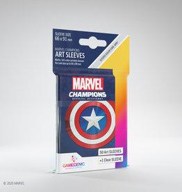 Marvel Champions Art Sleeves (50) Captain America