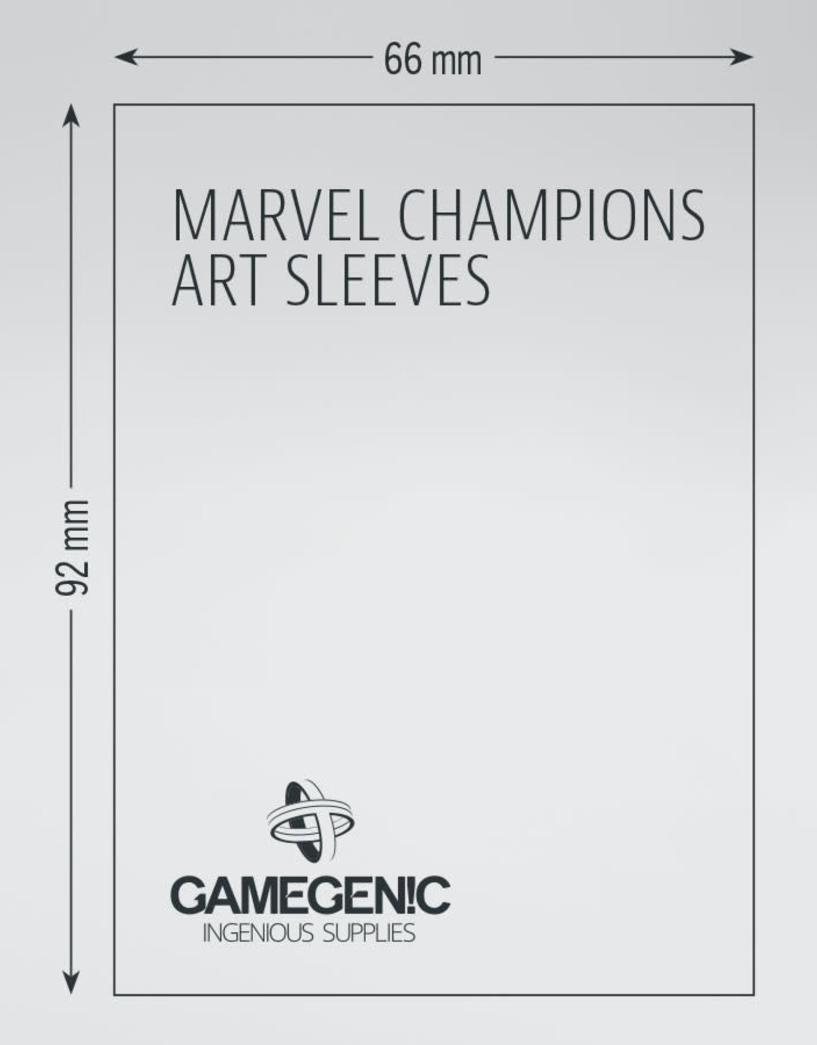 Marvel Champions Art Sleeves (50) She-Hulk