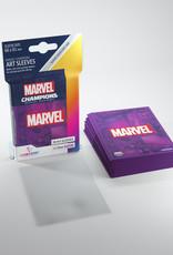 Marvel Champions Art Sleeves (50) Purple Marvel