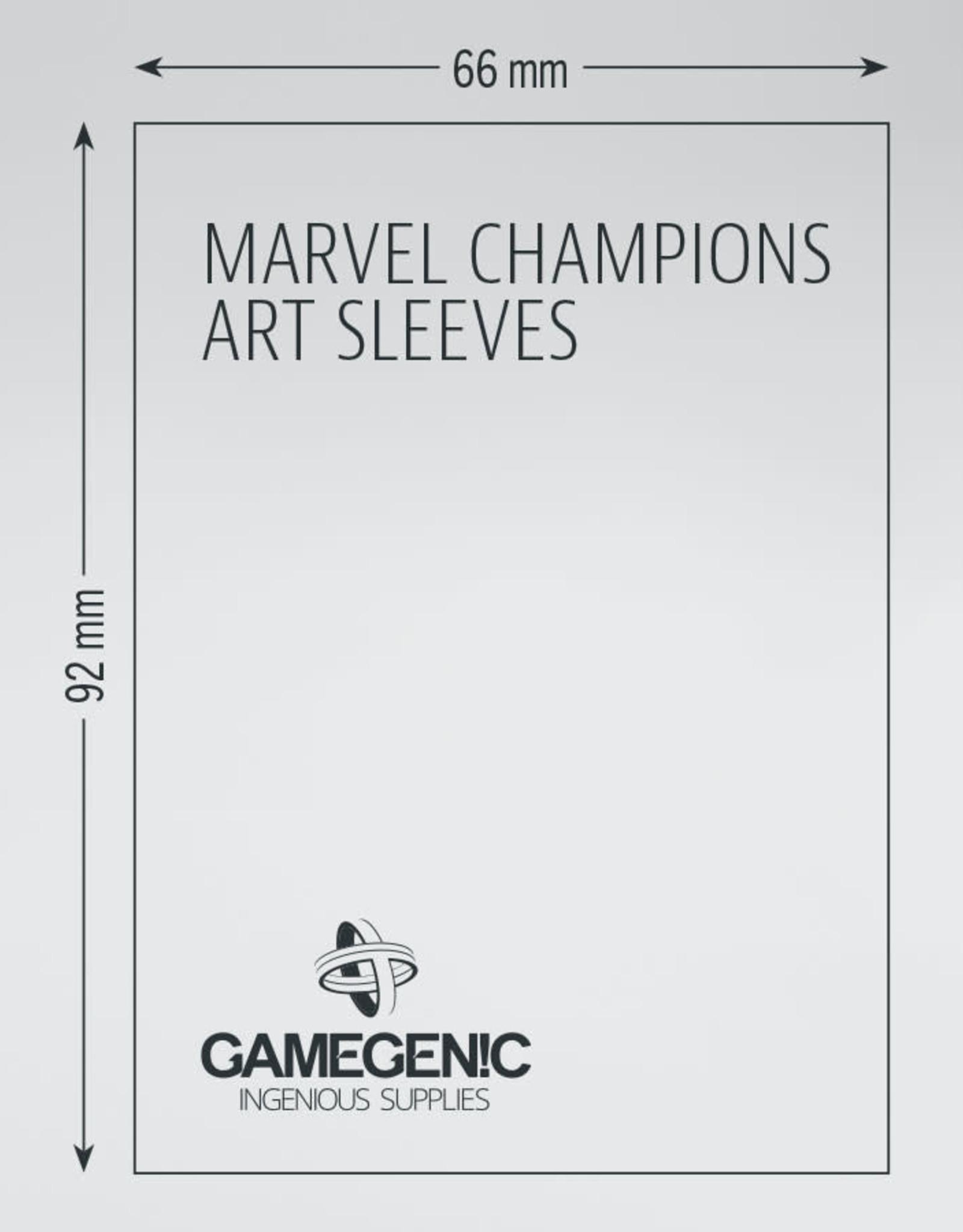 Marvel Champions Art Sleeves (50) Blue Marvel