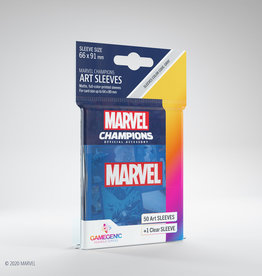 Marvel Champions Art Sleeves (50) Blue Marvel