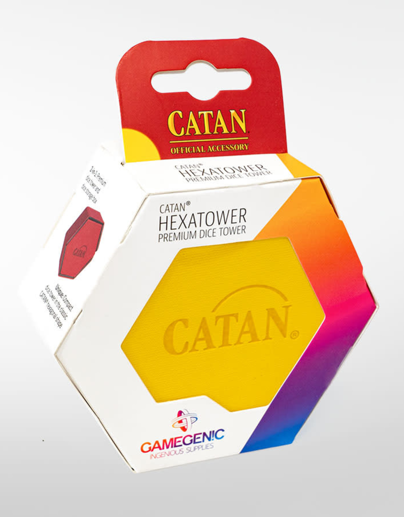 Catan Hexatower Yellow