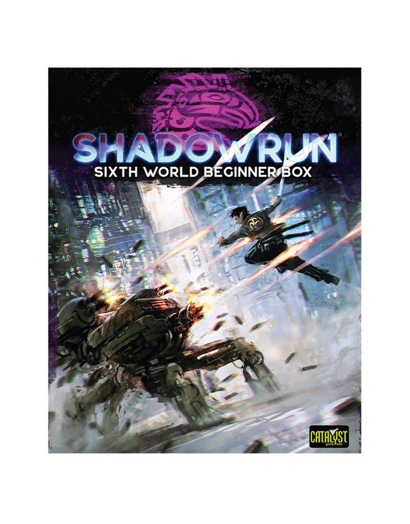Catalyst Games Shadowrun RPG: Beginner Box