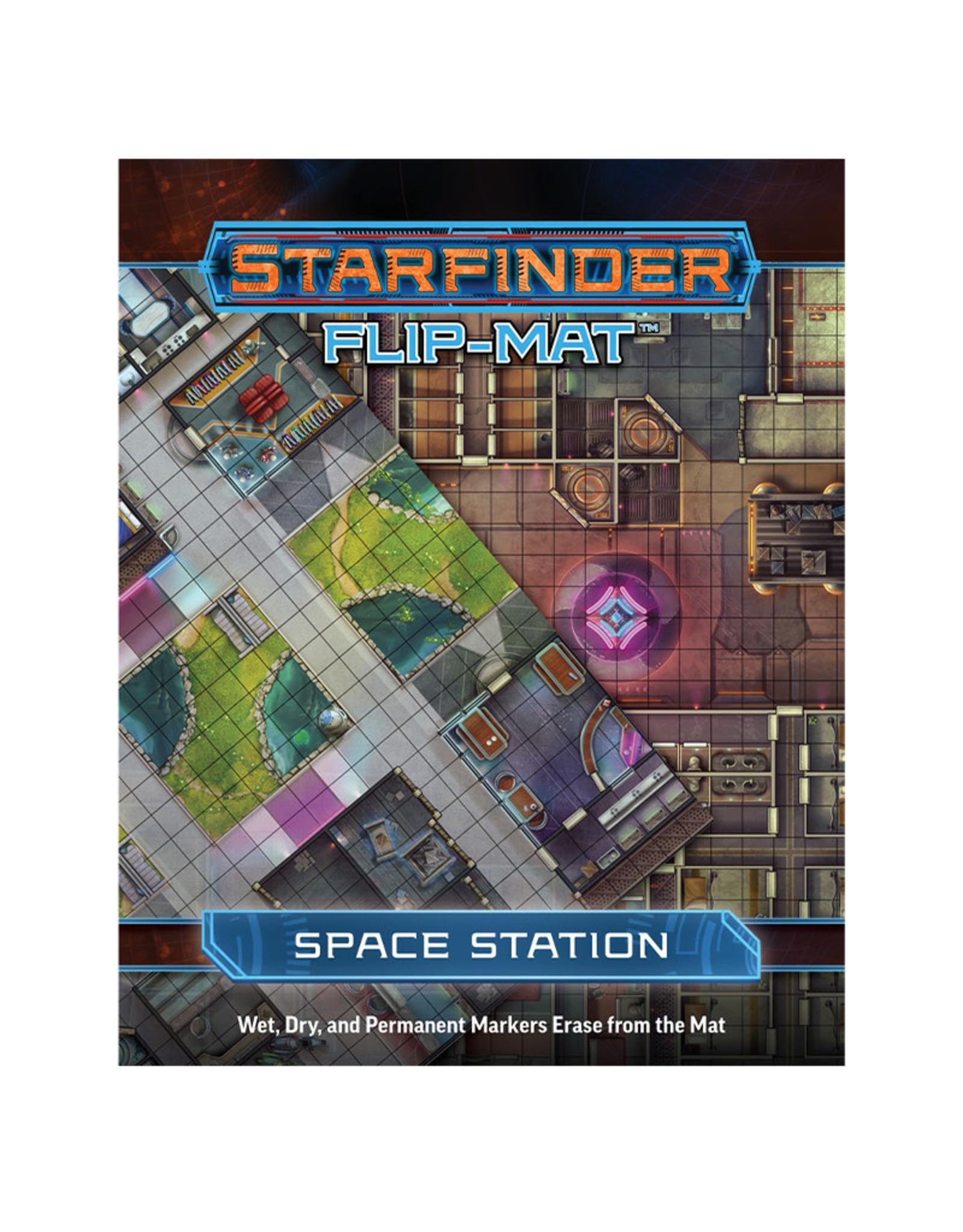 Paizo Starfinder Flip Mat Space Station