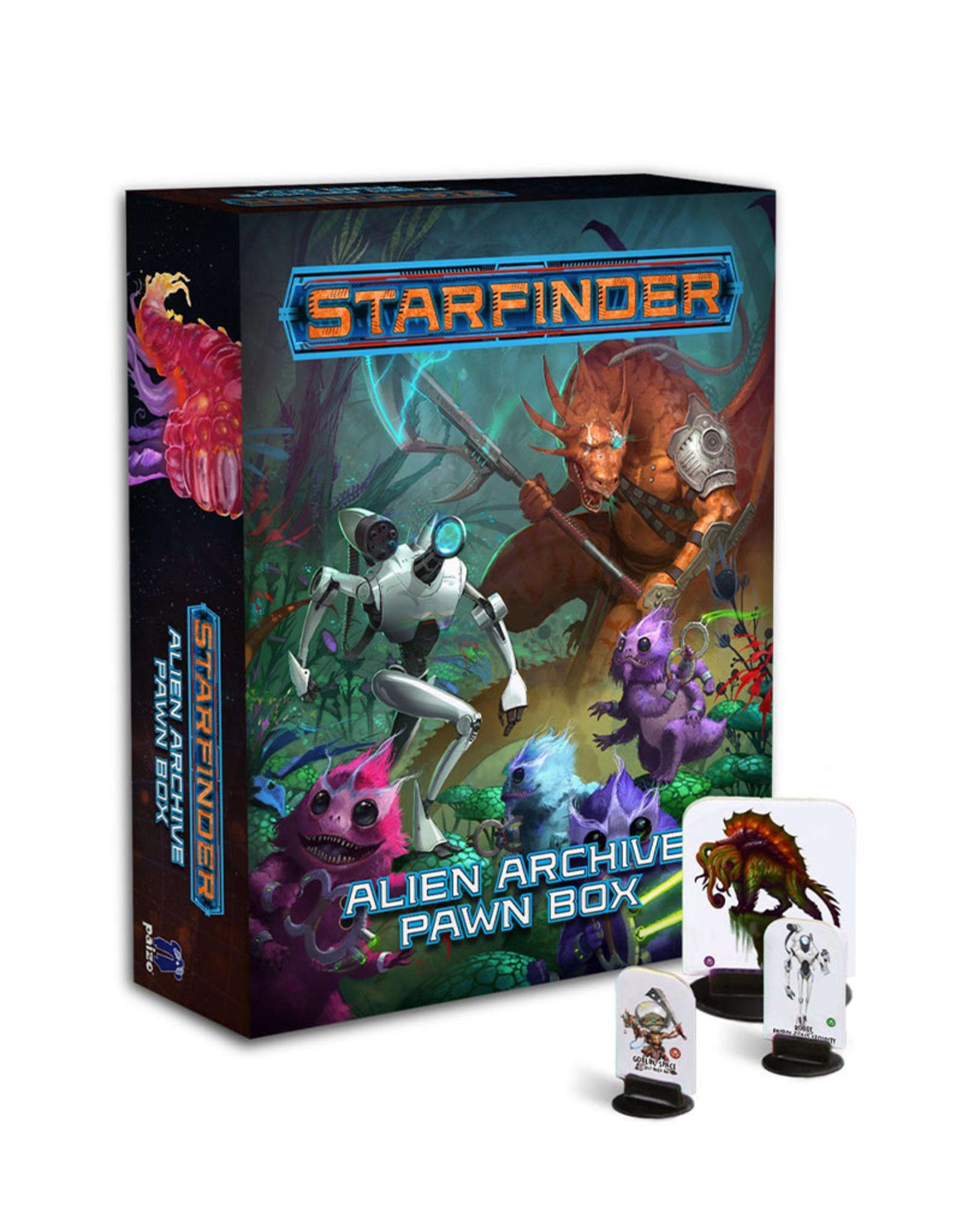 Paizo Starfinder RPG: Pawns Aliens Archive