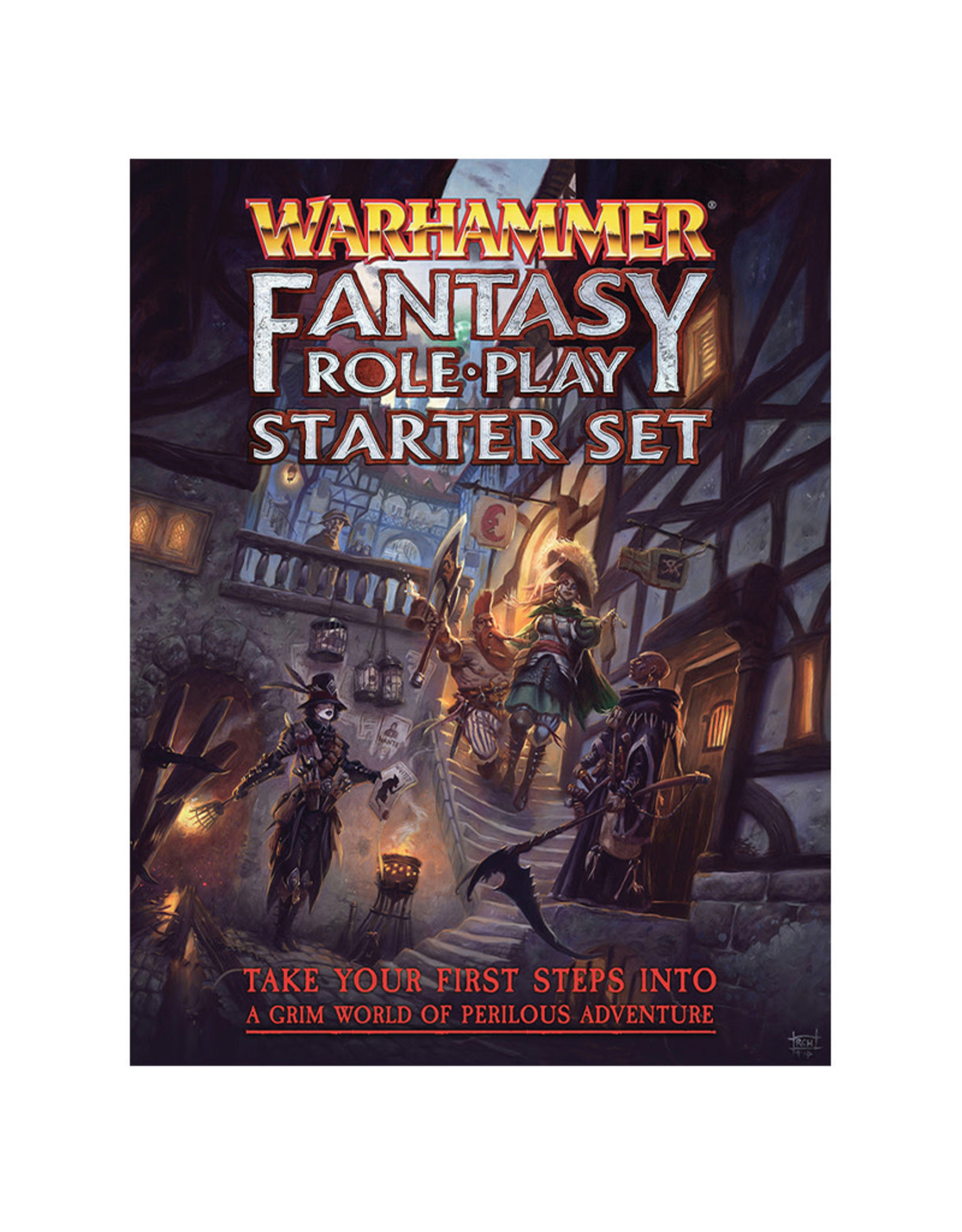 Crucible 7 Warhammer Fantasy RPG: Starter