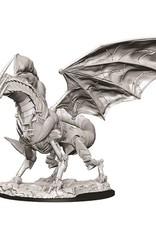 Wizkids Deep Cuts Unpainted Miniatures: Clockwork Dragon