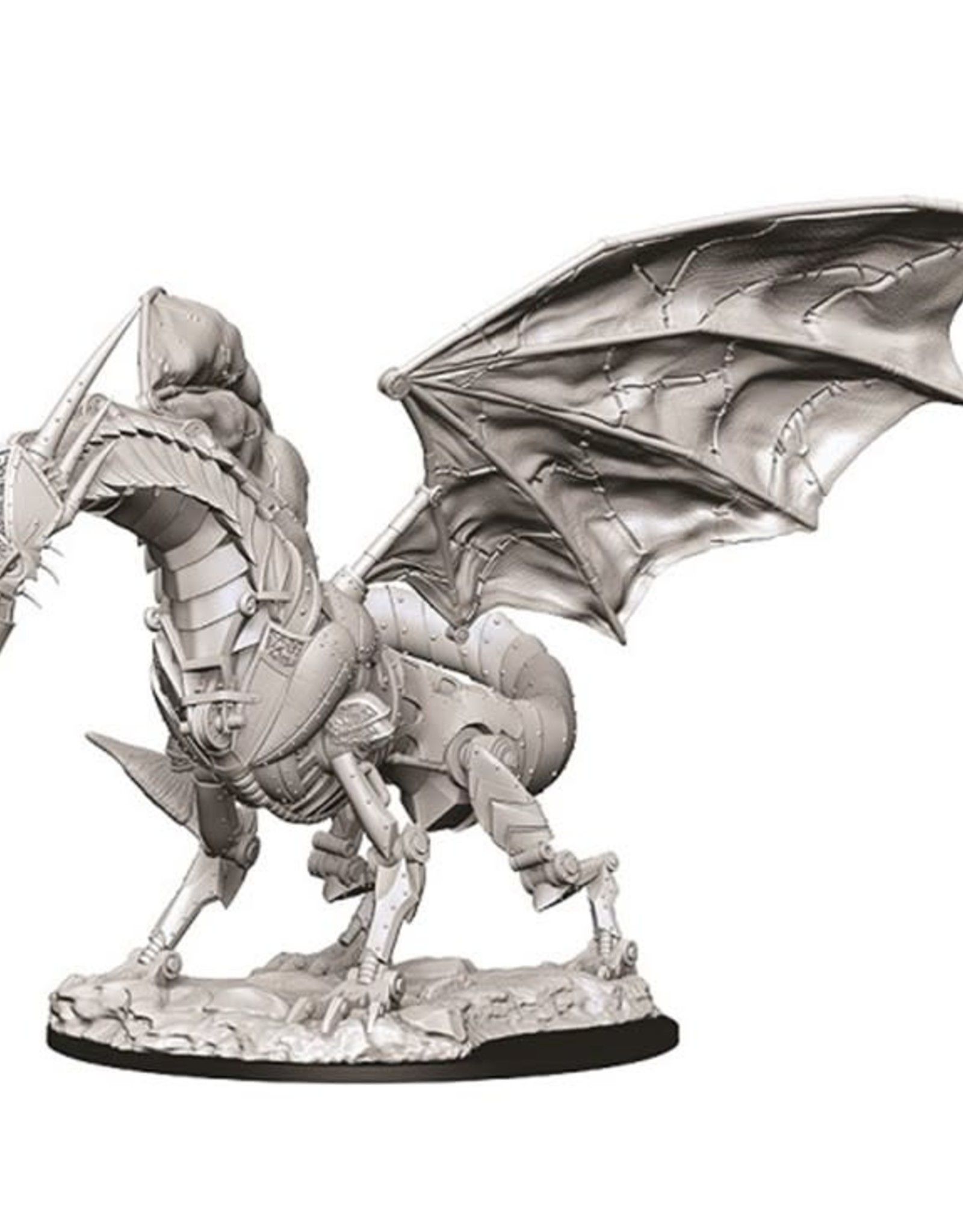 Wizkids Deep Cuts Unpainted Minis: Clockwork Dragon