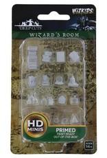 Wizkids Deep Cuts Unpainted Minis: Wizard's Room