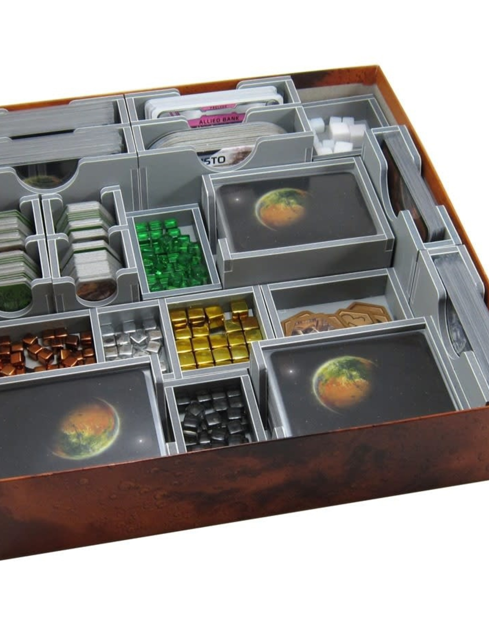 Folded Space Box Insert: Terraforming Mars