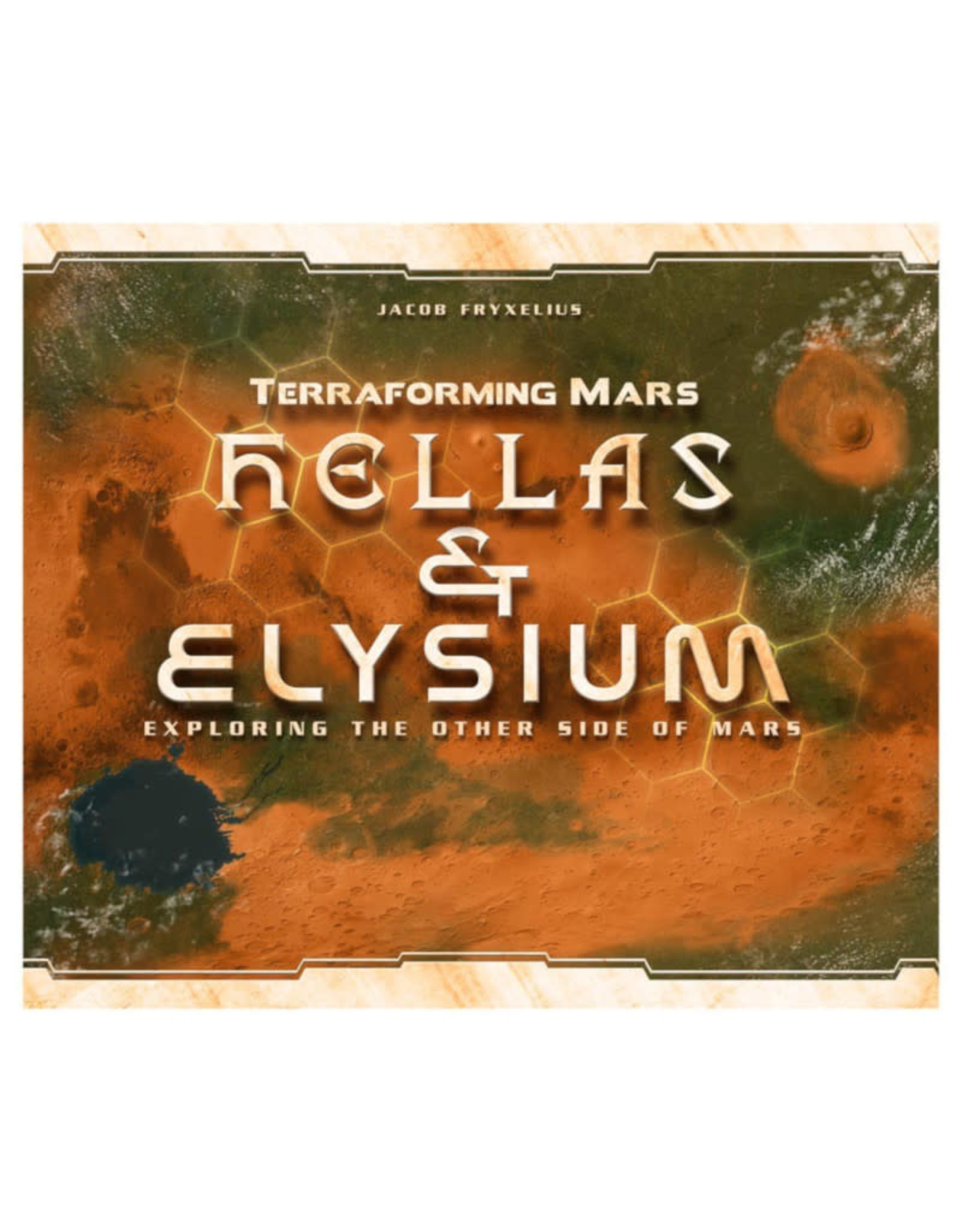 Stronghold Games Terraforming Mars Hellas and Elysium Expansion