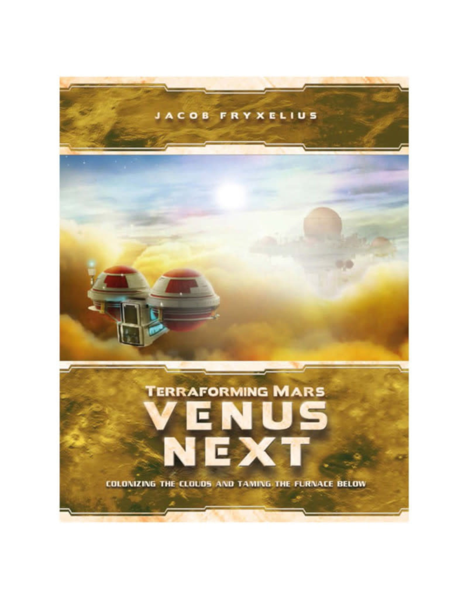 Stronghold Games Terraforming Mars Venus Next Expansion