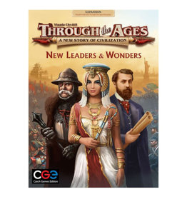 Czech Games Edition Through the Ages New Leaders & Wonders Expansion