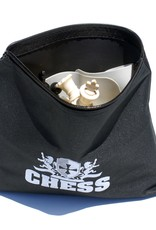 Chess Set: Ultimate Silicone Travel Black