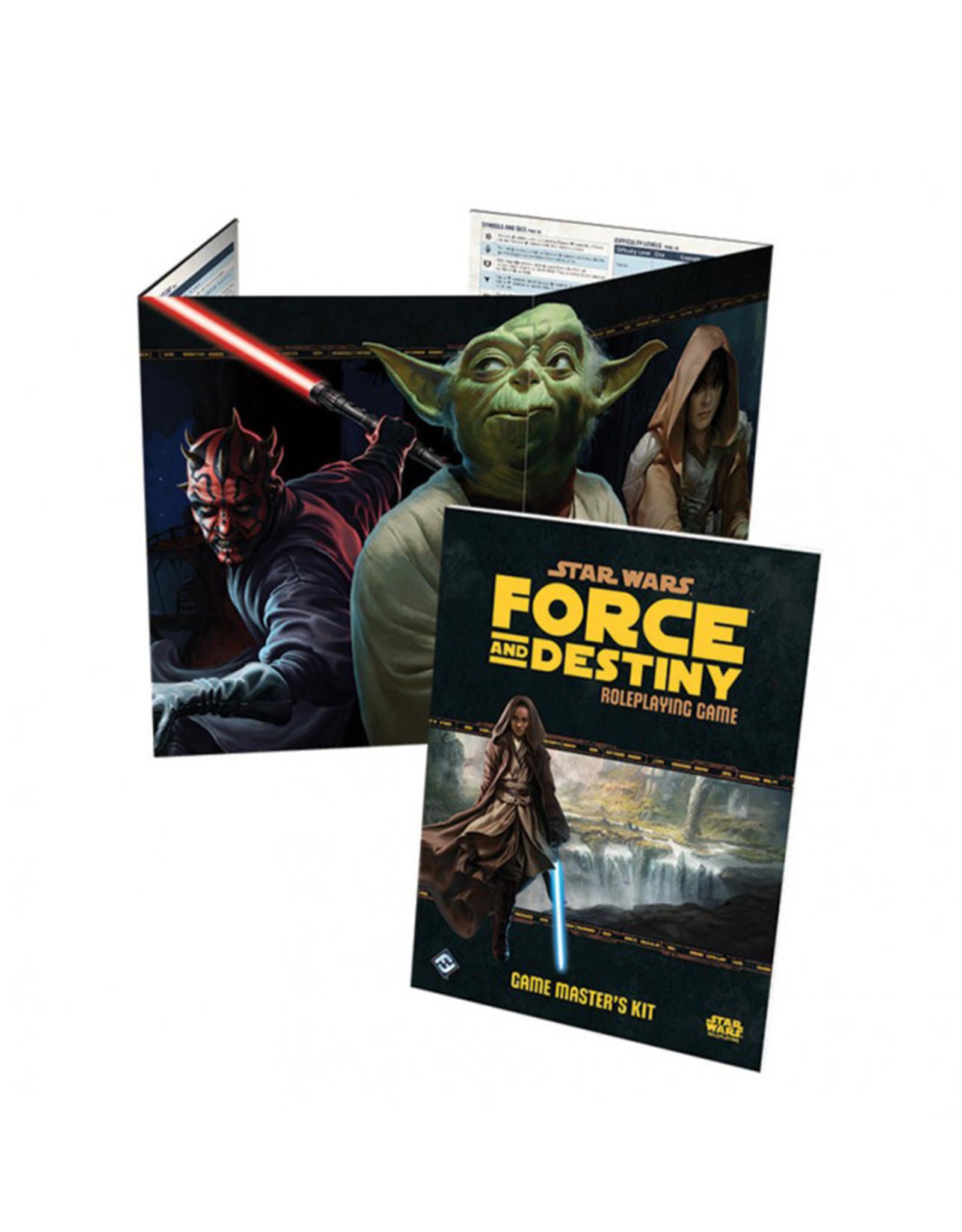 Fantasy Flight Games Star wars Force and Destiny RPG: Game Masters Kit