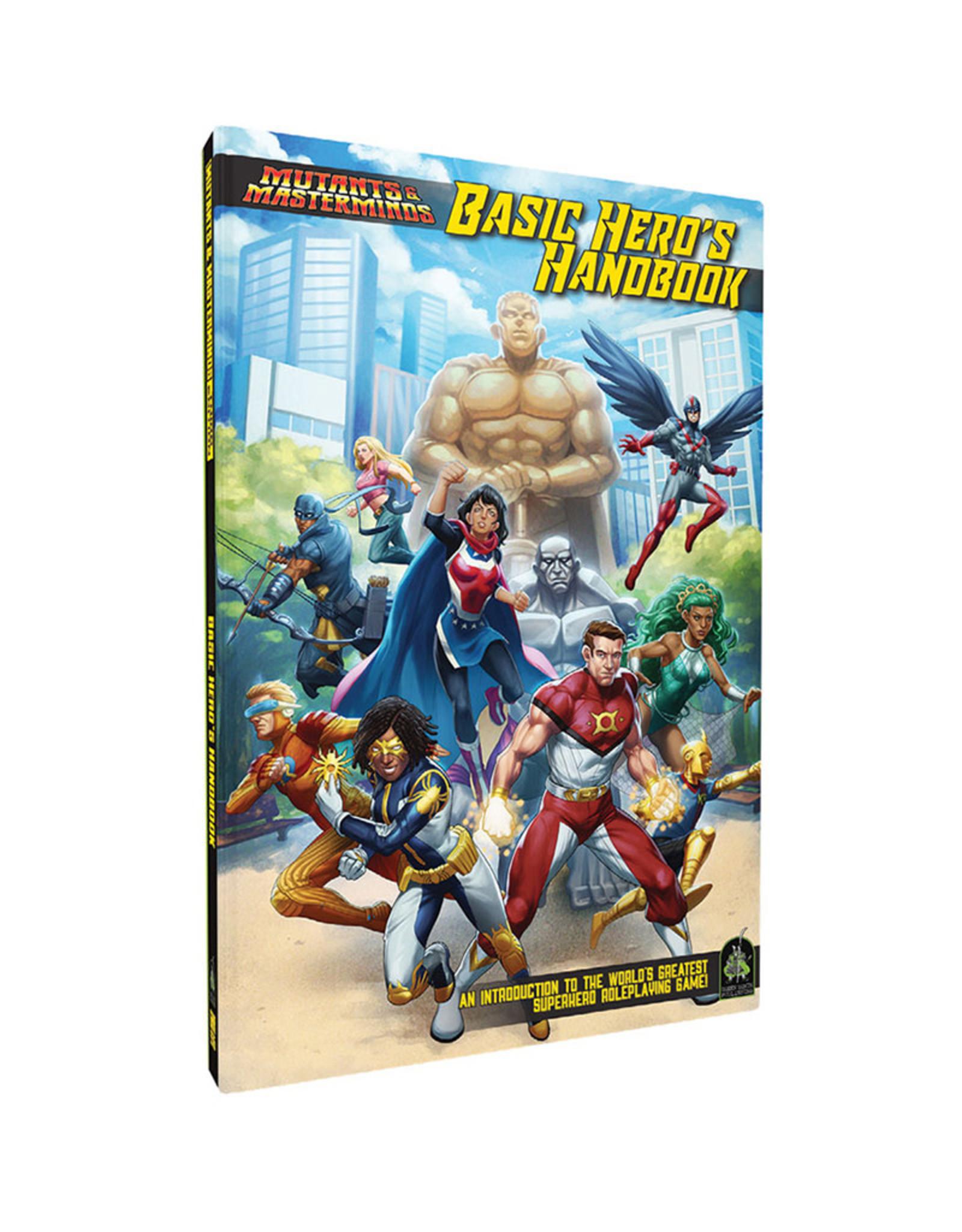 Misc Mutants and Masterminds RPG: Basic Hero Handbook