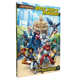 Green Ronin Publishing Mutants and Masterminds Basic Hero Handbook