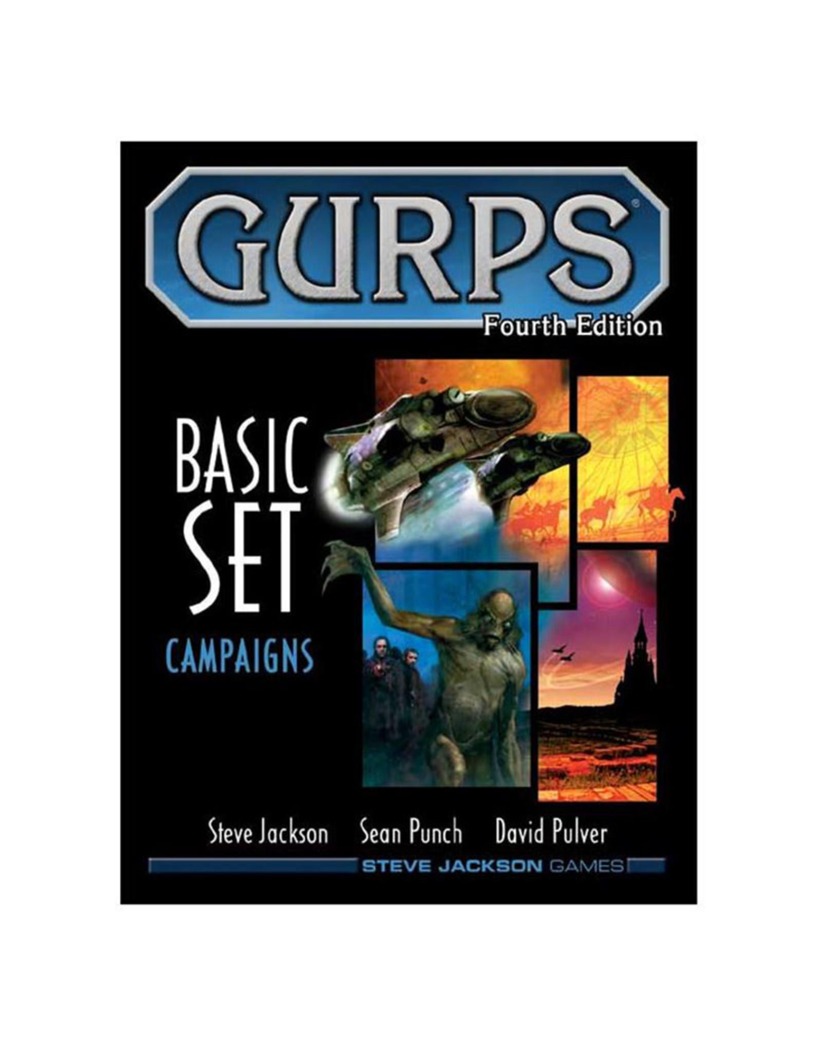 Steve Jackson Games GURPS RPG: Basic Campaigns