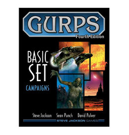 Steve Jackson Games GURPS RPG Basic Campaigns