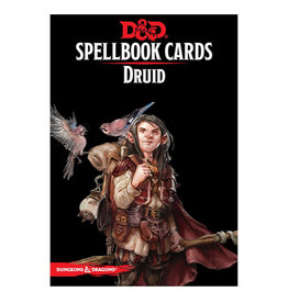 Gale Force 9 D&D RPG: Spellbook Cards Druid Deck