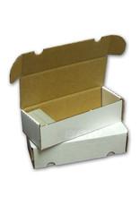 BCW BCW Cardboard Box (550-Card Capacity)