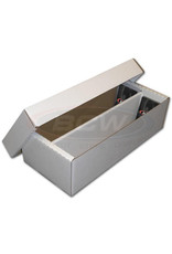 BCW BCW Cardboard Box (1600-Card Capacity - 2 Row)