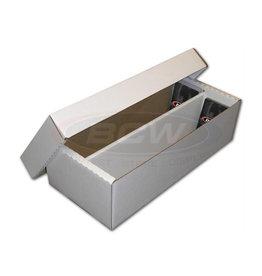 BCW BCW Cardboard Box (1600-Card Capacity - 2 Row)