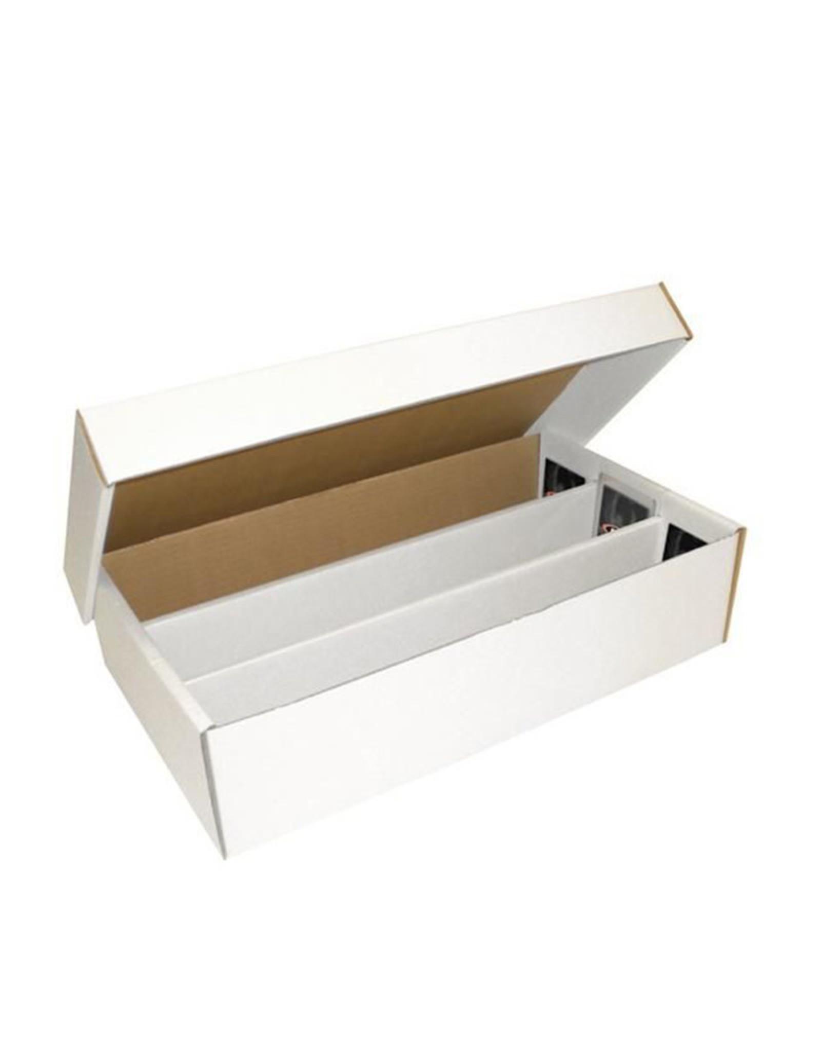"BCW BCW Cardboard Box ""Super Shoe"" (3000-Card Capacity - 3 Row)"