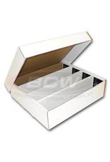 "BCW BCW Cardboard Box ""Monster"" (3200-Card Capacity - 4 Row)"