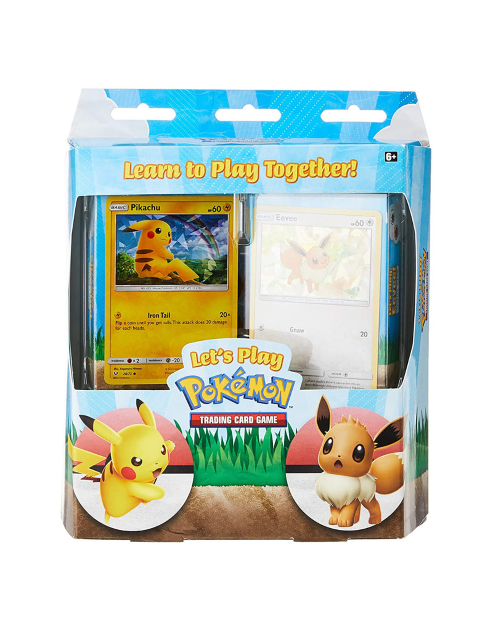 Pokemon Pokemon Let's Play Box (Pikachu and Eevee)
