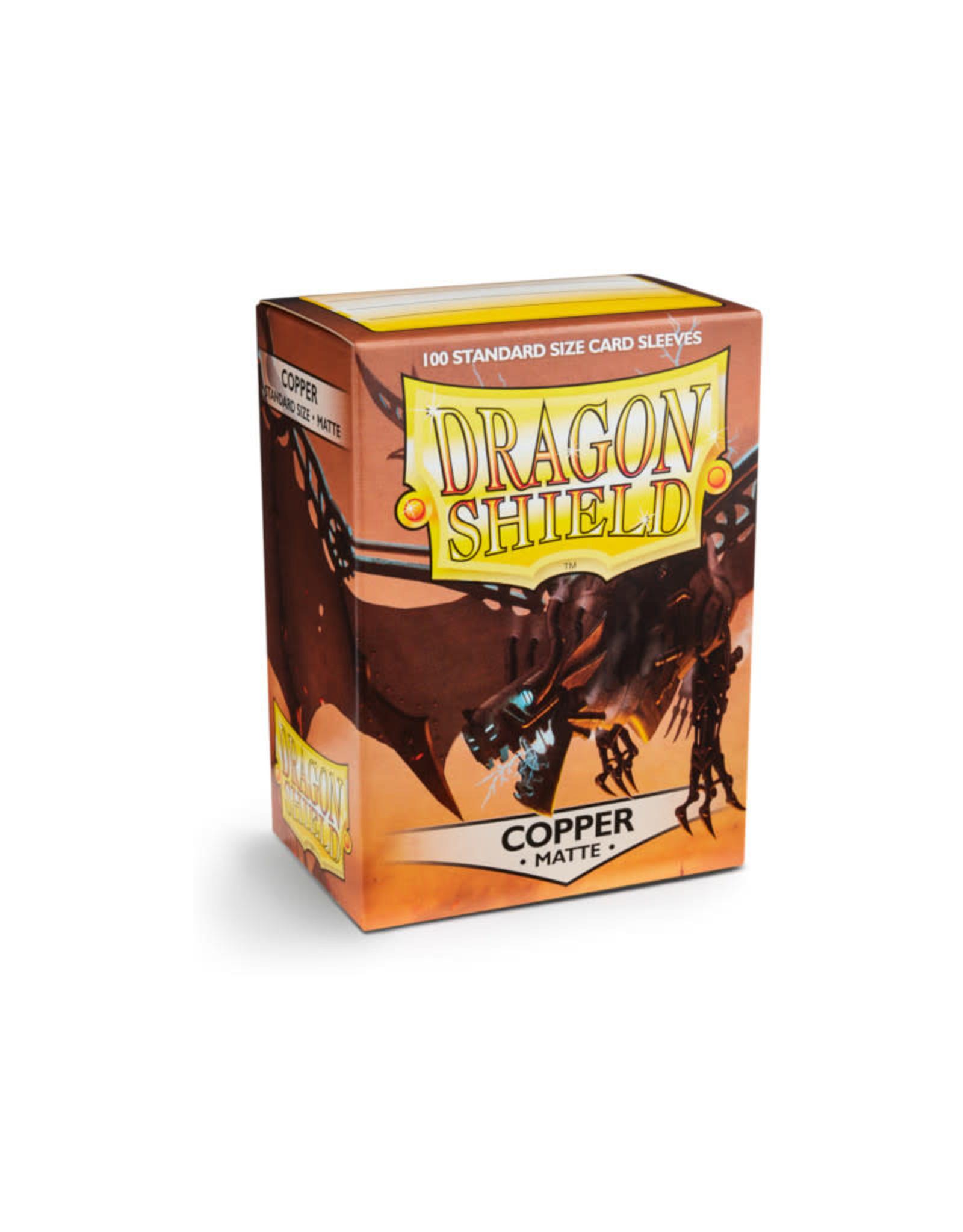 Arcane Tinmen Sleeves: Dragon Shield Matte (100) Copper