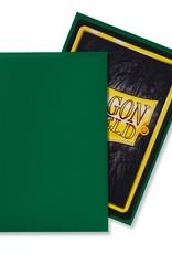 Arcane Tinmen Sleeves: Dragon Shield Matte (100) Green