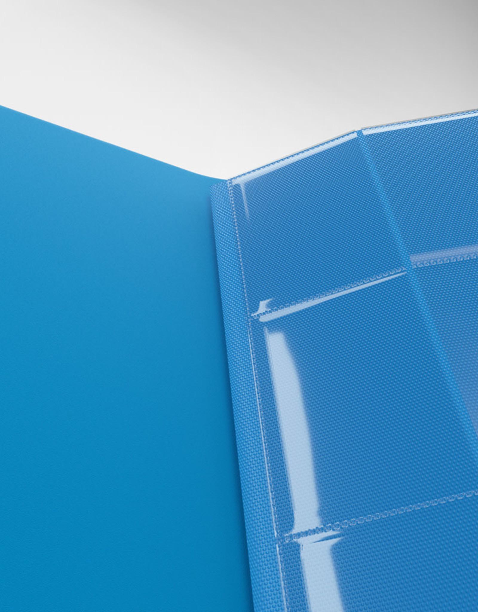 Casual Album: 24-Pocket Side-Loading Blue