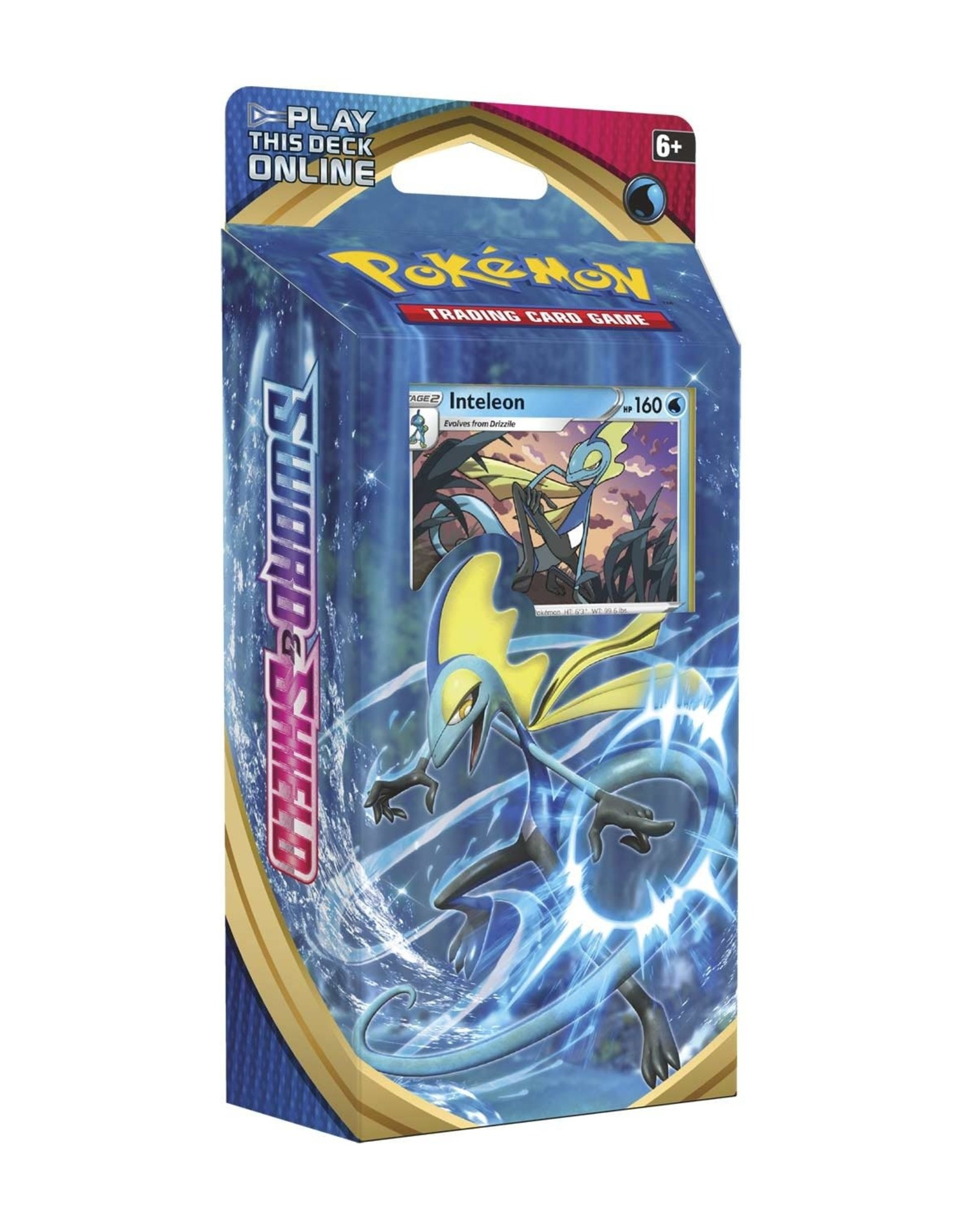 Pokemon Pokemon Sword and Shield Base Set Theme Deck Inteleon